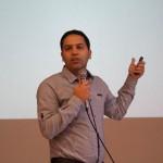 سخنرانی در مورد استارتاپ ها و کار تیمی